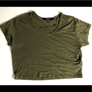 Other - Girls army green top